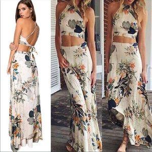 🌴 Boho 2 Piece Maxi Dress 🌴